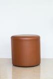 Round brown krzesło Zdjęcia Royalty Free