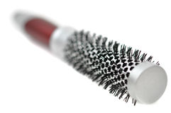 Round Brush, Isolated on White Royalty Free Stock Photo