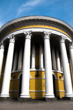 Round building with columns Royalty Free Stock Photography