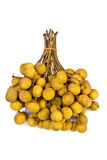 A round bunch of Longan Royalty Free Stock Photography
