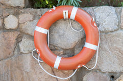 Round buoy lifesaver Royalty Free Stock Photography