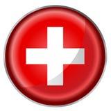 Round button flag Stock Photos