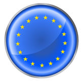 Round button flag Stock Photos
