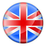 Round button  flag Royalty Free Stock Photography