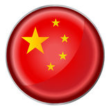 Round button flag Stock Images