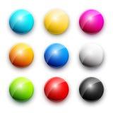Round button Royalty Free Stock Photo