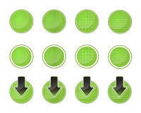 Round buttons Royalty Free Stock Photos