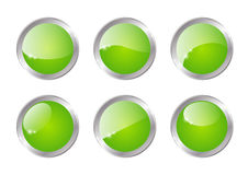 Round buttons Stock Images