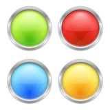Round Buttons Stock Image