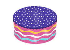 Round Cake Vector Stock Images