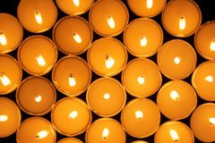 Round candles Stock Photography