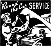 Round The Car Service 3 Royalty Free Stock Photos