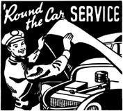 Round The Car Service 3 Royalty Free Stock Photos