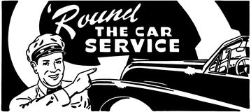 Round The Car Service Royalty Free Stock Photo