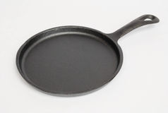 Round Cast Iron Skillet Royalty Free Stock Photography