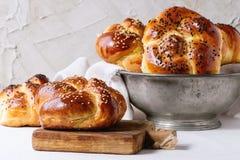 Round Challah Bread Royalty Free Stock Photos