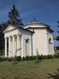 Round chapel in Polanowka, Poland Stock Photo
