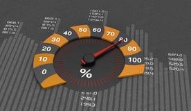 Round Chart Stock Image