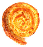 Round cheese bread Stock Image