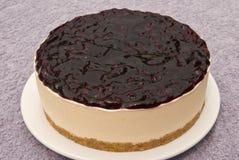 Round cheese cake Royalty Free Stock Photo