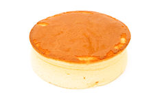 Round cheese cake Stock Photography