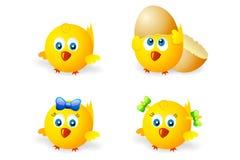 Round chicken Royalty Free Stock Image