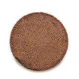 Round of Chocolat cake Stock Photo