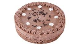 Round chocolate cake Royalty Free Stock Photo