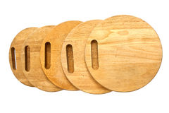 Round chopping board Royalty Free Stock Image