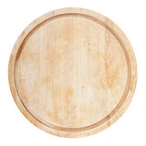 Round chopping board Royalty Free Stock Images