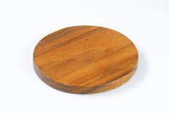 Round chopping board Royalty Free Stock Photography
