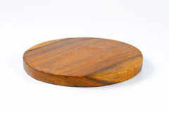Round chopping board Stock Photos