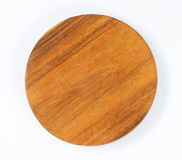 Round chopping board Stock Images