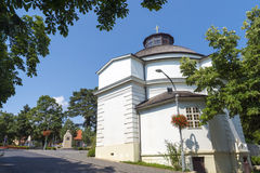 The Round Church in Balatonfured Stock Photography