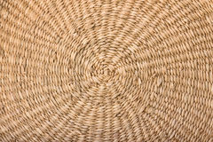 round circle wicker basket texture Royalty Free Stock Images