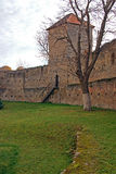 Round citadel with high watching tower Royalty Free Stock Photos