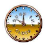 ROUND THE CLOCK Stock Images