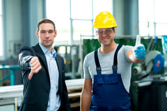 Round of collective bargaining Royalty Free Stock Photos