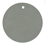 Round color blank tag label Stock Photos