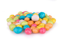 Round colored candy Stock Photos