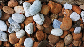 Round colorful pebble stones Royalty Free Stock Image