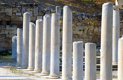Round columns Stock Photos