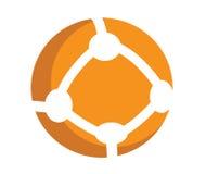 Round Communication Icon Royalty Free Stock Image