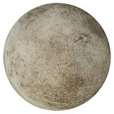Round concrete stone ball Stock Image