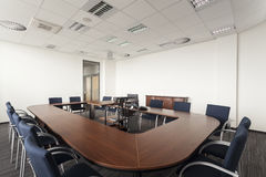 Round conference table Royalty Free Stock Images