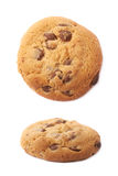 Round cookie with chocolate Stock Photo