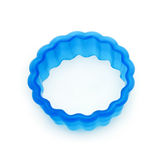 Round cookie cutter Royalty Free Stock Images