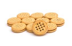 Round cookies Stock Photography