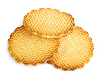 Round cookies Stock Images