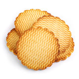 Round cookies Royalty Free Stock Photography